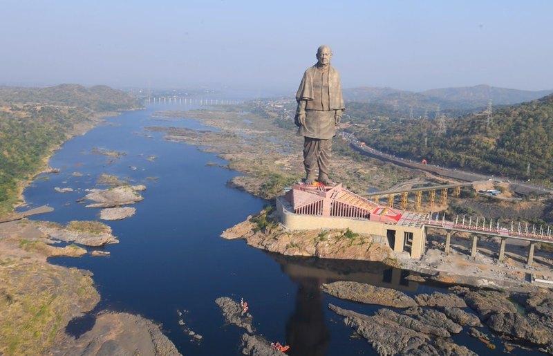 Открылась самая высокая статуя в мире