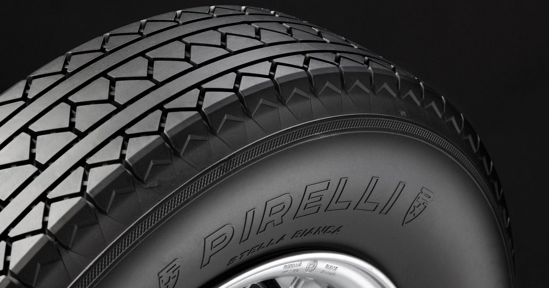 Pirelli возрождает олдскульные шины