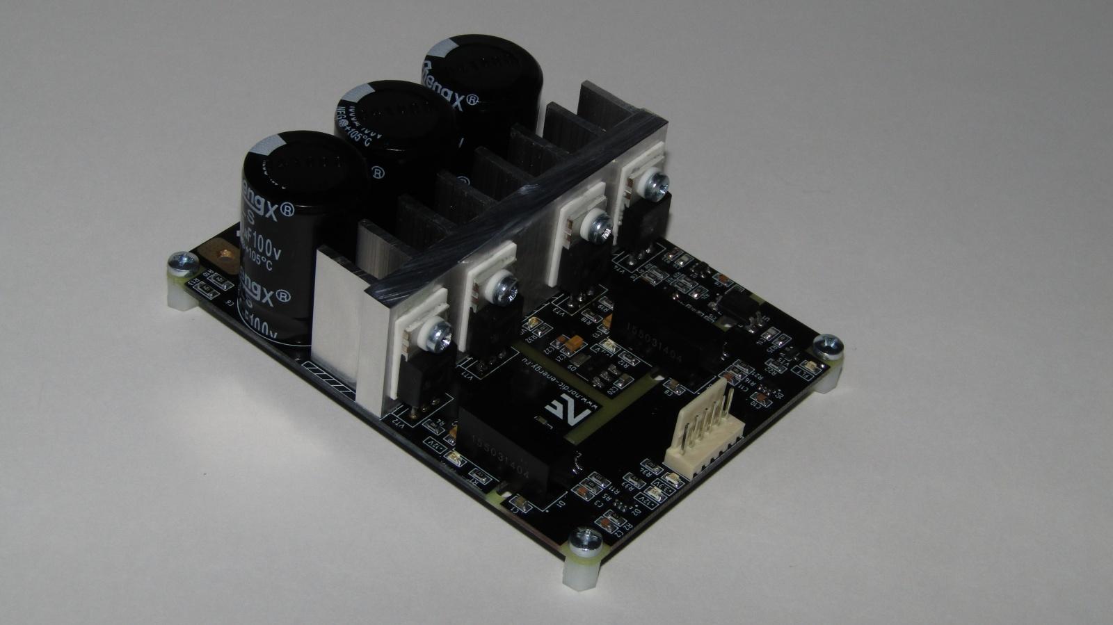 Инвертор с чистым синусом за 15 минут или «силовая электроника — каждому» - 11