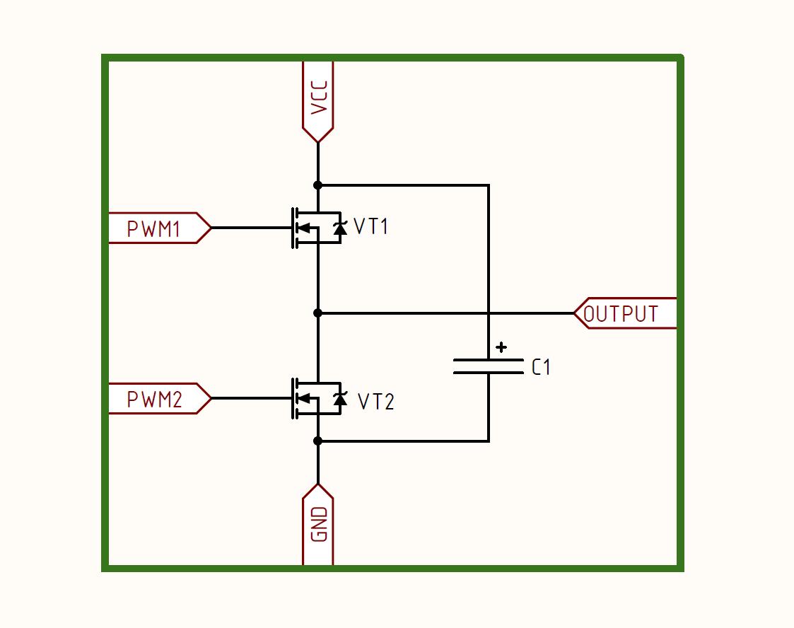 Инвертор с чистым синусом за 15 минут или «силовая электроника — каждому» - 13
