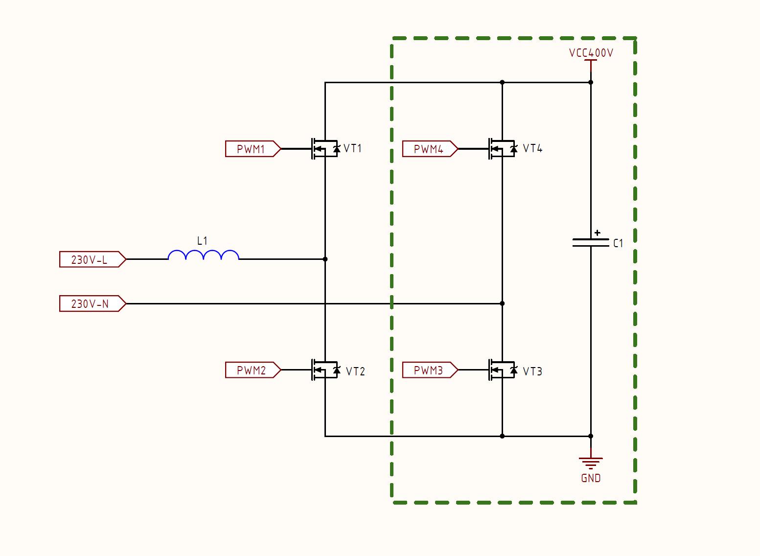 Инвертор с чистым синусом за 15 минут или «силовая электроника — каждому» - 7