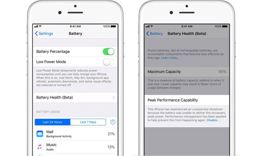 Прошлогодние модели iPhone тоже замедляются по мере износа аккумулятора - 2