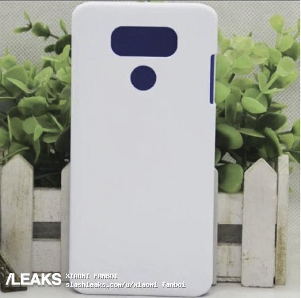 Фото чехла для LG G8 подтверждает наличие сдвоенной камеры и дактилоскопического датчика на задней панели
