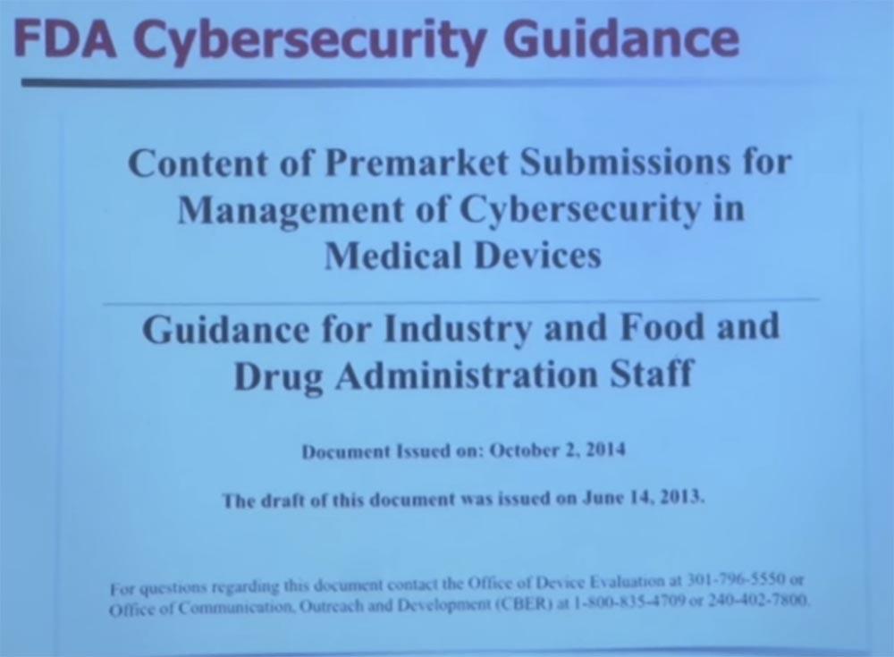 Курс MIT «Безопасность компьютерных систем». Лекция 15: «Медицинское программное обеспечение», часть 1 - 14
