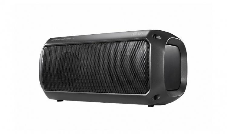 Портативные акустические системы LG XBOOM Go серии PK работают в автономном режиме до 24 часов