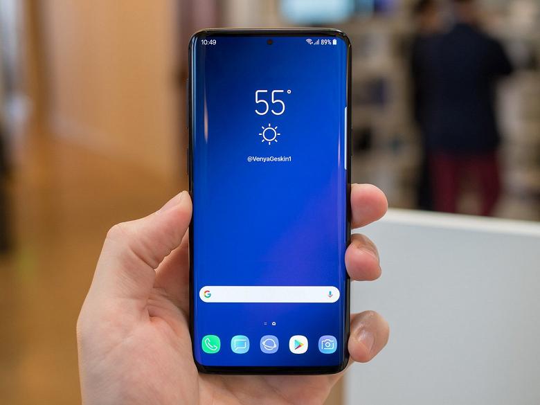 Такого сканера и экрана, как у Samsung Galaxy S10, не будет у конкурентов, как минимум, до второй половины 2019 года