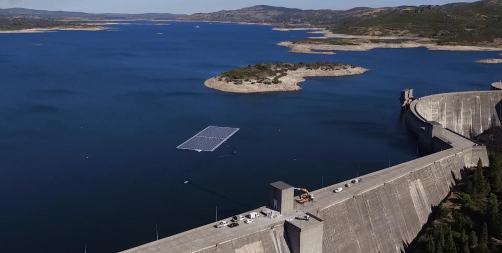 Плавучие солнечные панели — отличный симбионт для ГЭС - 1