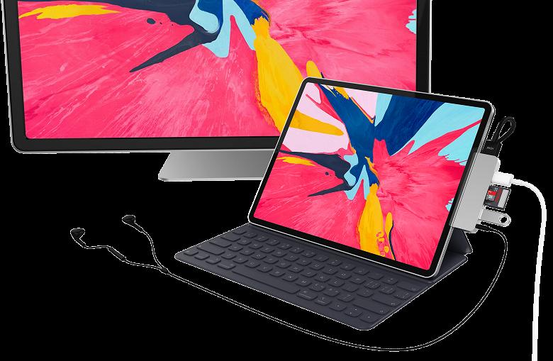 Hyper воспользовалась переходом Apple на USB-C и представила адаптер HyperDrive for iPad Pro
