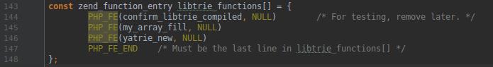 Как сделать расширение на PHP7 сложнее, чем «hello, world», и не стать красноглазиком. Часть 2 - 3