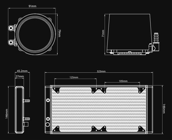 Новая статья: Система жидкостного охлаждения Deepcool Castle 280 RGB: движение в свет