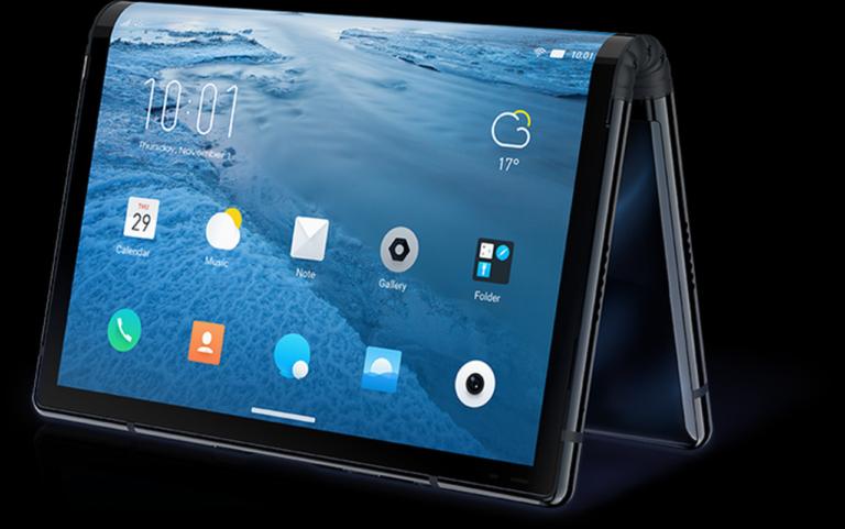 Samsung создает сгибающийся смартфон Samsung Galaxy F с использованием совершенно нового подхода