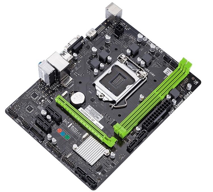 Плата SUPoX H310MHD3-Q7 позволяет создать компактный ПК на чипе Intel Coffee Lake