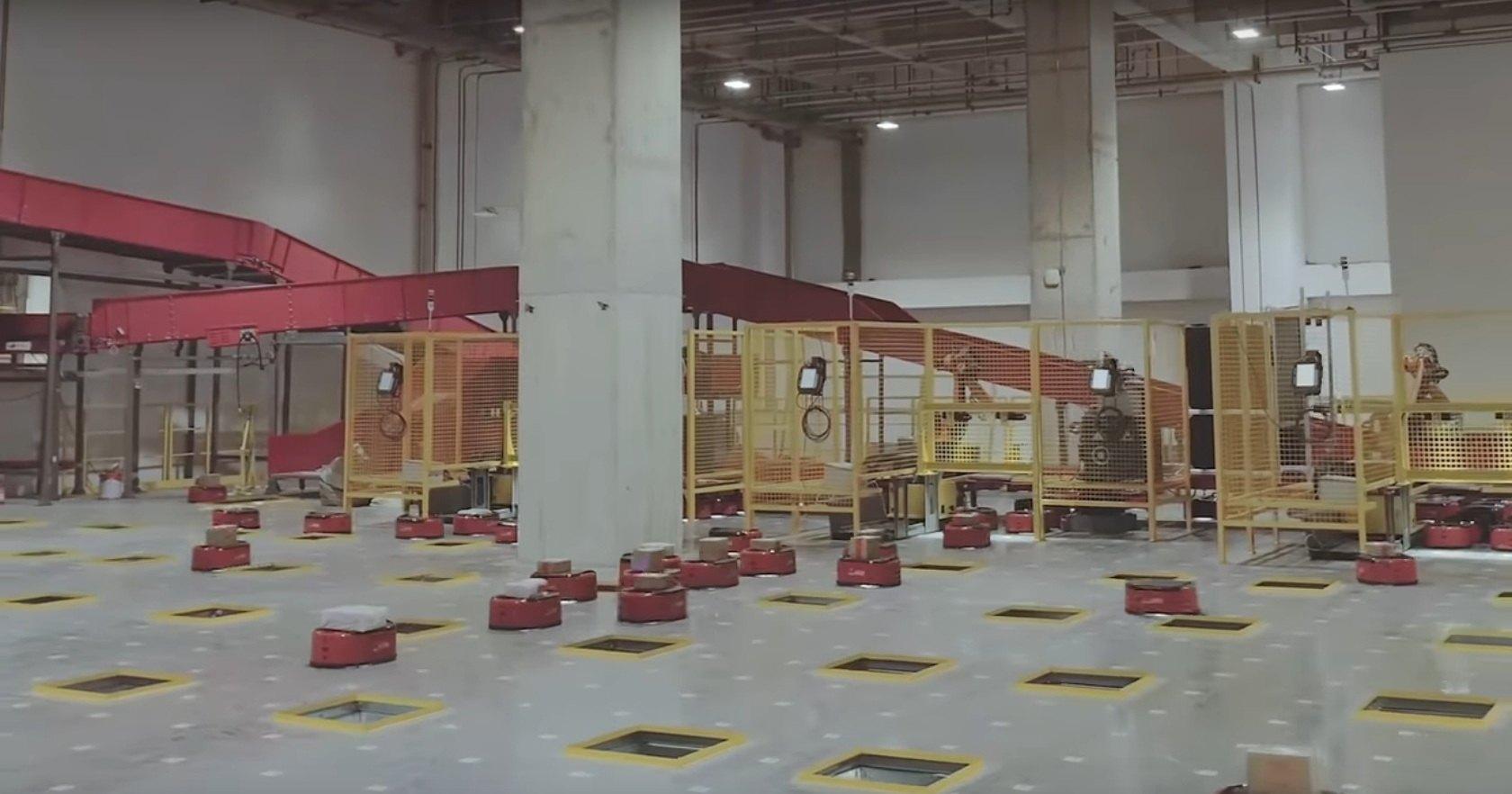 Здесь нет людей: первый полностью роботизированный склад