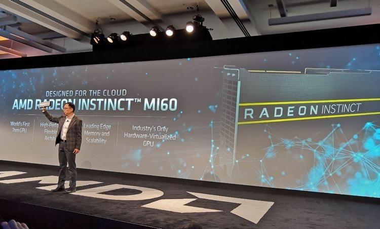 AMD Radeon Instinct MI60: первый ускоритель вычислений на 7-нм Vega