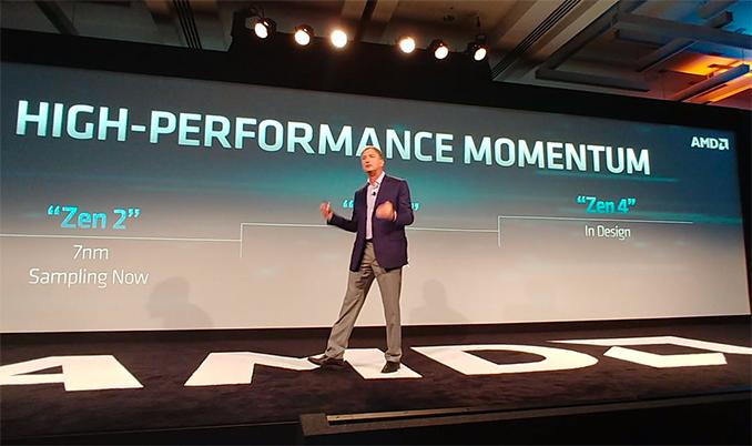 AMD обмолвилась о микроархитектуре Zen 4