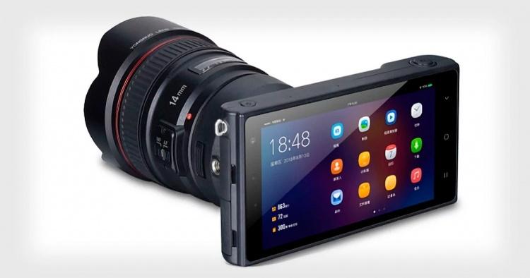 Yongnuo YN450: беззеркальная камера с «начинкой» от смартфона и поддержкой объективов Canon EF