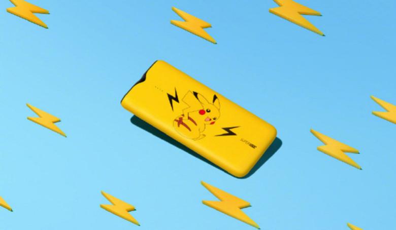 Корпус самого быстрого в мире мобильного аккумулятора украшает изображение Пикачу