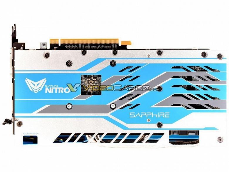 Появились изображения 3D-карты Sapphire Radeon RX 590 Nitro+ Special Edition