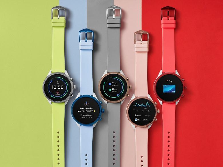 Fossil Sport — яркие умные часы на новой платформе Qualcomm