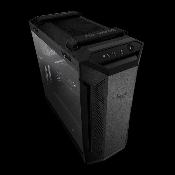 В компьютерном корпусе Asus TUF Gaming GT501 используется металл толщиной до 1,5 мм