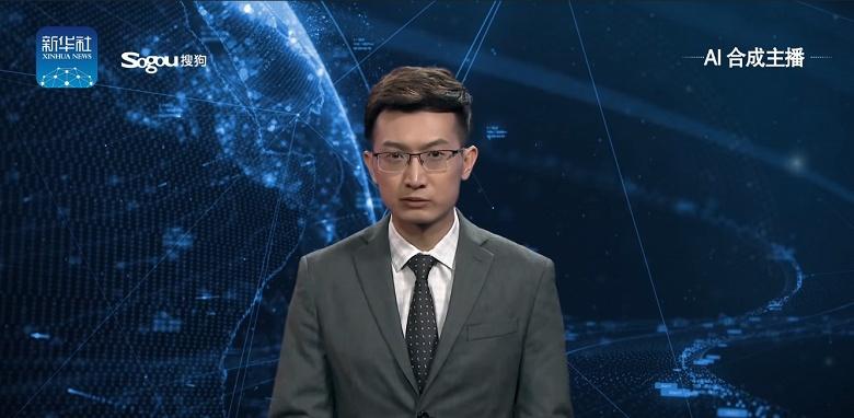 Видео дня: в Китае создали цифрового ведущего новостей с искусственным интеллектом, который почти неотличим от настоящего