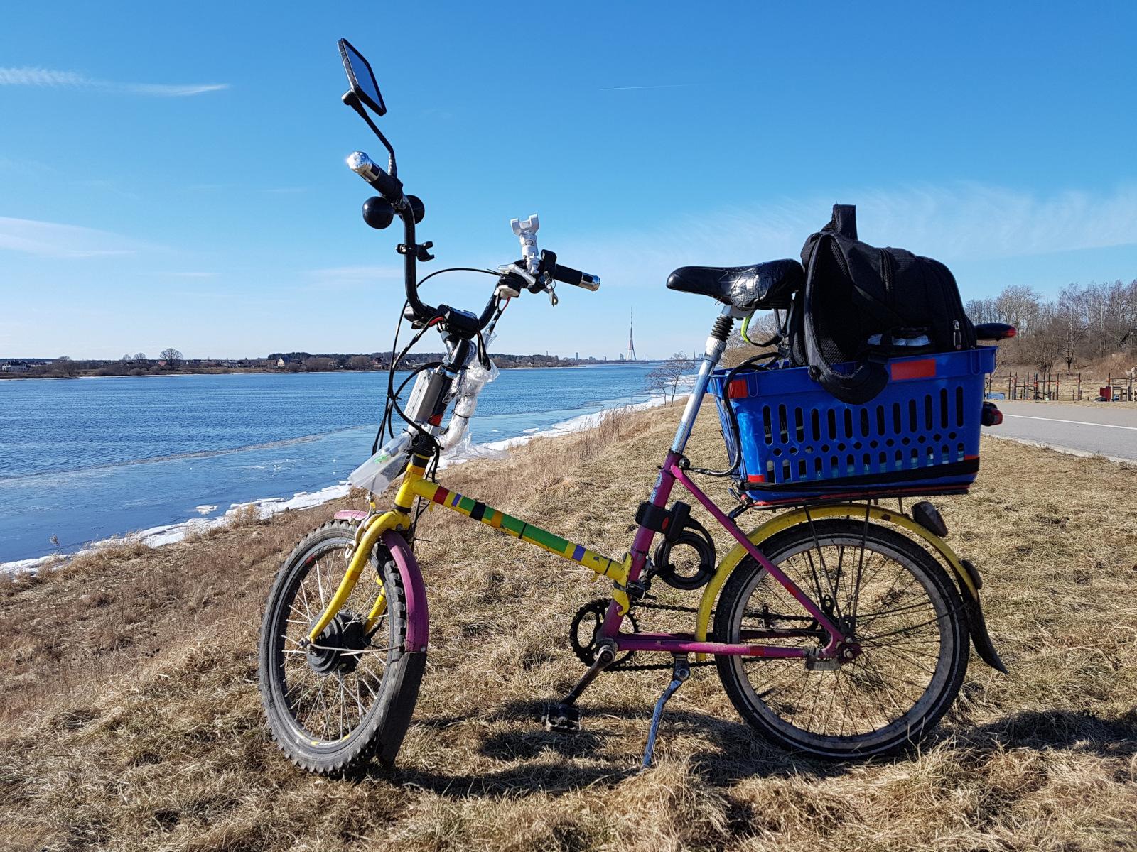 Электровелосипед из говна и палок - 1