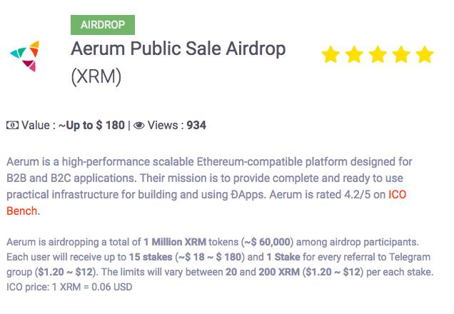 Обзор популярных крипто airdrop платформ - 11