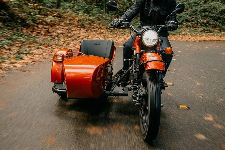 У мотоцикла Урал появилась электрическая версия