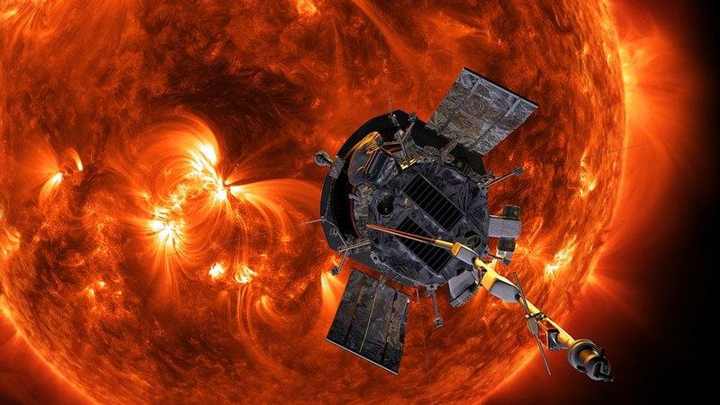 Зонд «Паркер» благополучно пережил первое сближение с Солнцем