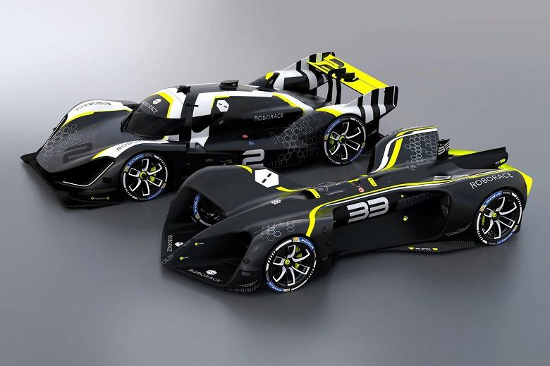 Часть гонки Roborace самоуправляемые автомобили пройдут под управлением водителей