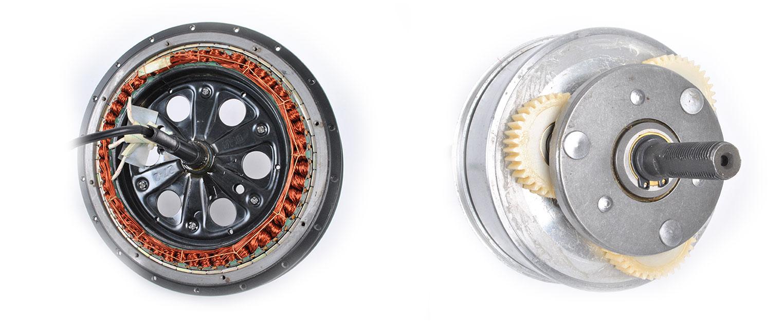 Компоненты электровелосипеда: мотор - 4