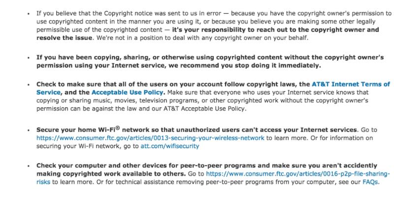 Провайдер AT&T стал крупнейшим правообладателем и начнет отключать от сети обвиненных в пиратстве пользователей - 2