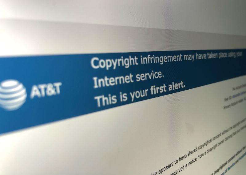 Провайдер AT&T стал крупнейшим правообладателем и начнет отключать от сети обвиненных в пиратстве пользователей - 1
