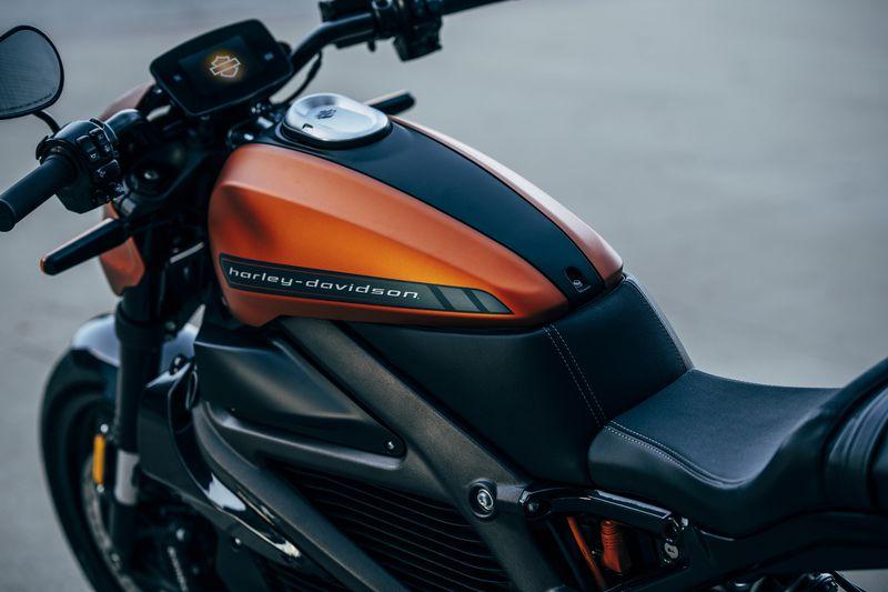 Harley-Davidson показала свой первый электрический мотоцикл