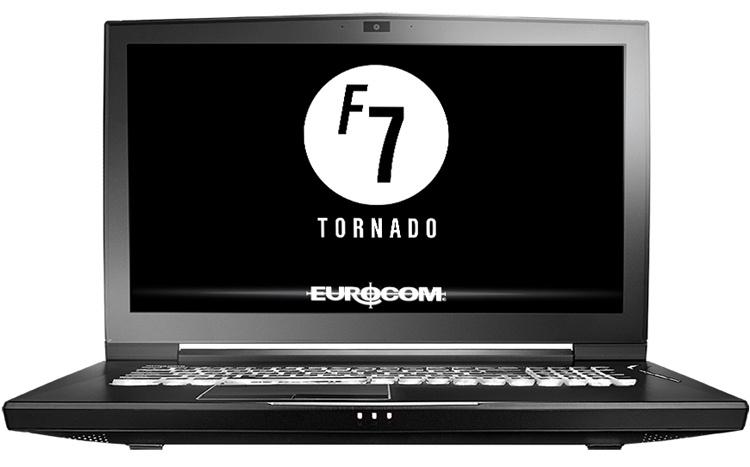 Мобильная рабочая станция Eurocom Tornado F7W несёт на борту до 128 Гбайт ОЗУ