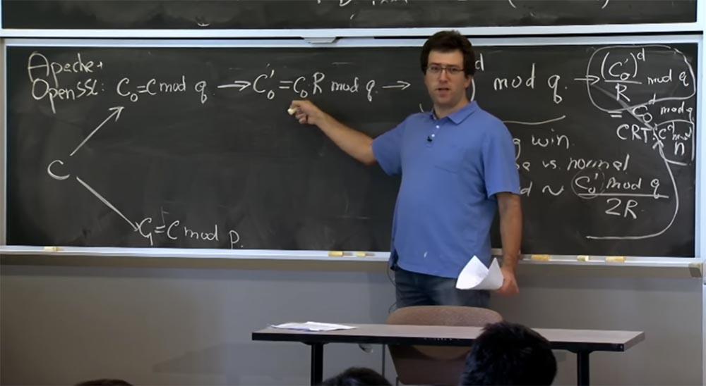 Курс MIT «Безопасность компьютерных систем». Лекция 16: «Атаки через побочный канал», часть 3 - 10
