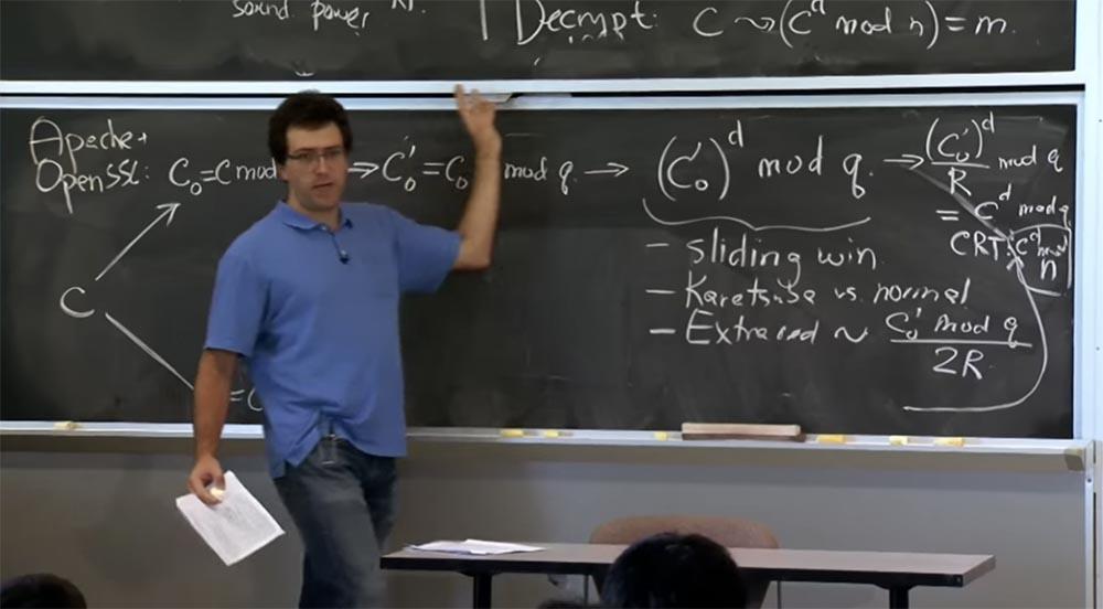 Курс MIT «Безопасность компьютерных систем». Лекция 16: «Атаки через побочный канал», часть 3 - 6