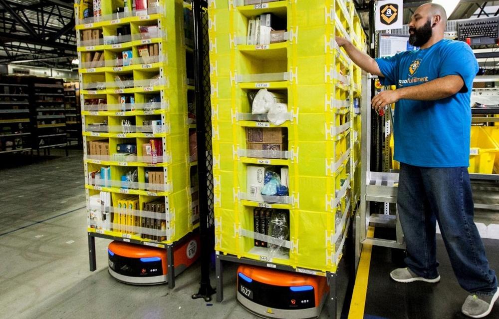 Роботы заменили Amazon 20 000 рабочих - 1