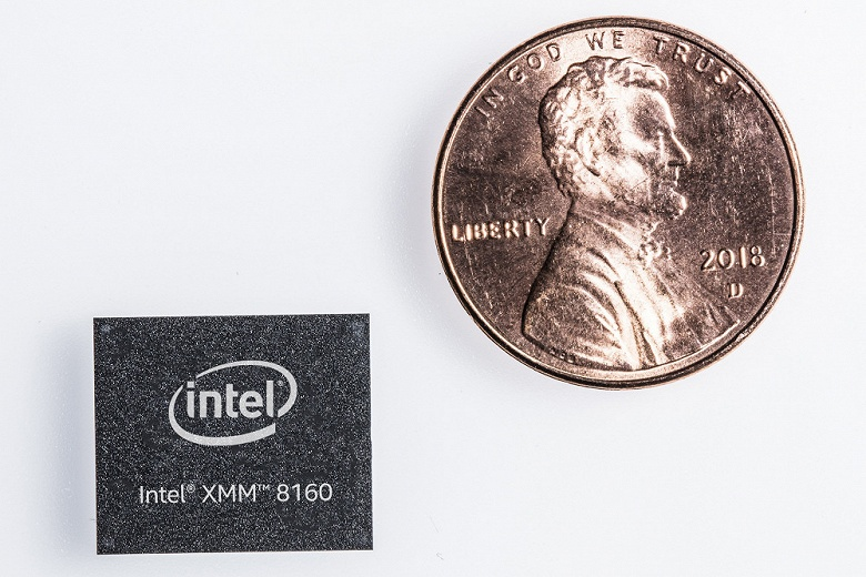 Intel представила свой первый многорежимный модем 5G XMM 8160, поставки стартуют во второй половине 2019 года