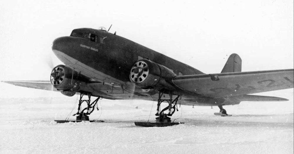 Как летали на Ли-2: учебный фильм 1944 года