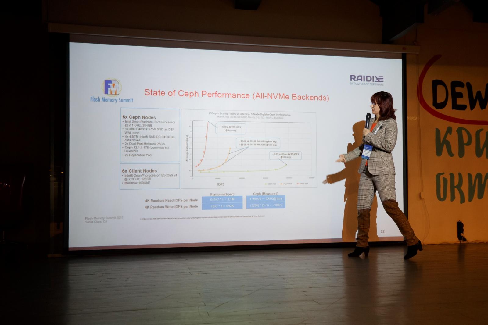 Конференция ПРОSTOR 2018: вопросы и ответы про будущее СХД - 26