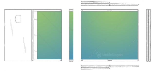 Первый складной планшет Samsung можно сгибать в двух местах