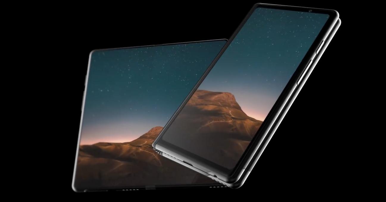 Складной смартфон Samsung представили в концептуальном видео