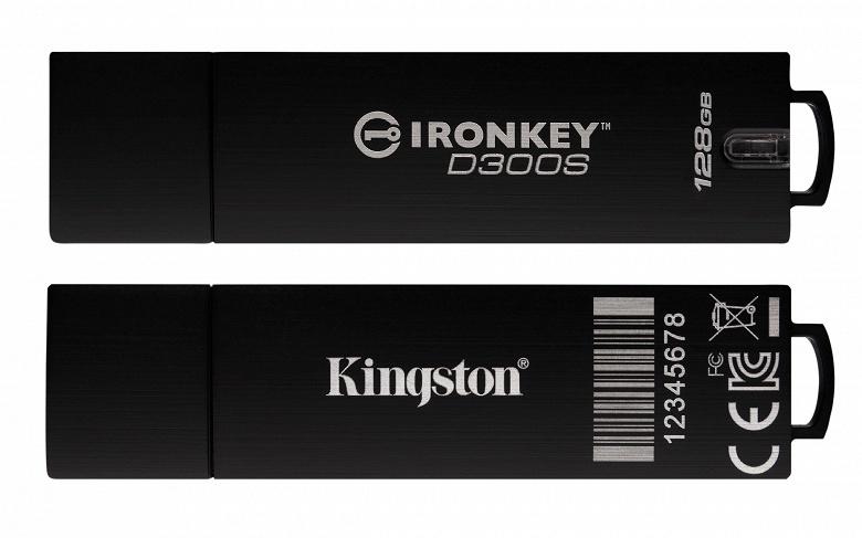 Каждый USB-накопитель Kingston IronKey D300S имеет уникальный серийный номер