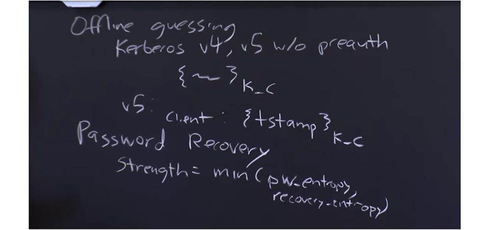 Курс MIT «Безопасность компьютерных систем». Лекция 17: «Аутентификация пользователя», часть 2 - 4