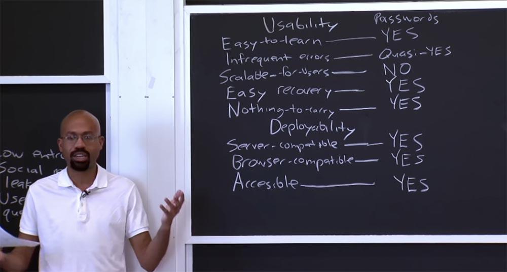 Курс MIT «Безопасность компьютерных систем». Лекция 17: «Аутентификация пользователя», часть 2 - 7