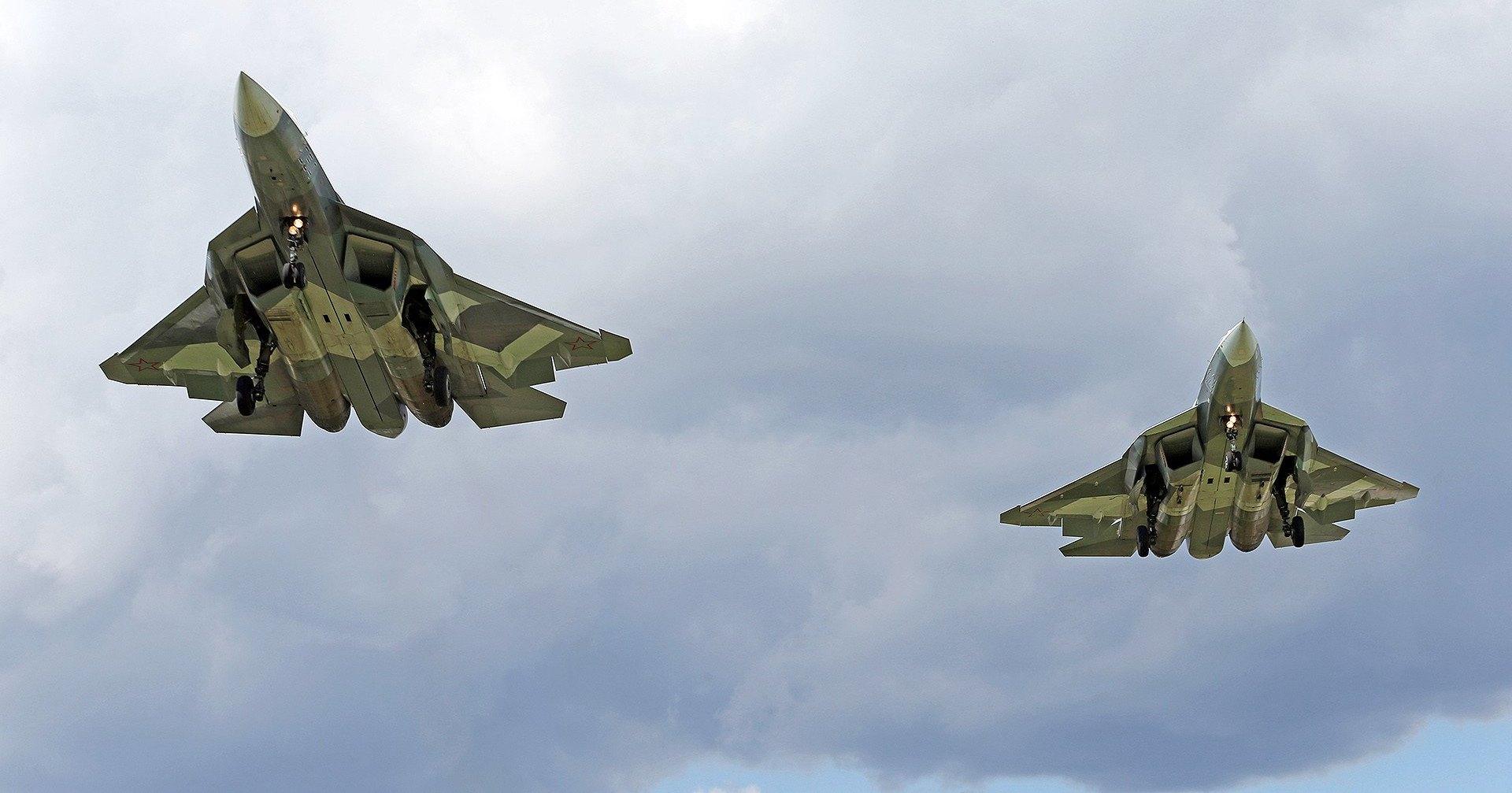 Су-57 испытали на малозаметность в камере