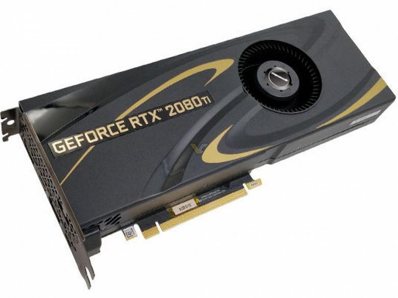 3D-карты Manli GeForce RTX 2070 и 2080 Ti оснащены системами охлаждения с «турбинами»