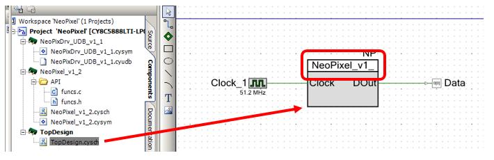 Управление RGB светодиодами через блок UDB микроконтроллеров PSoC фирмы Cypress - 6
