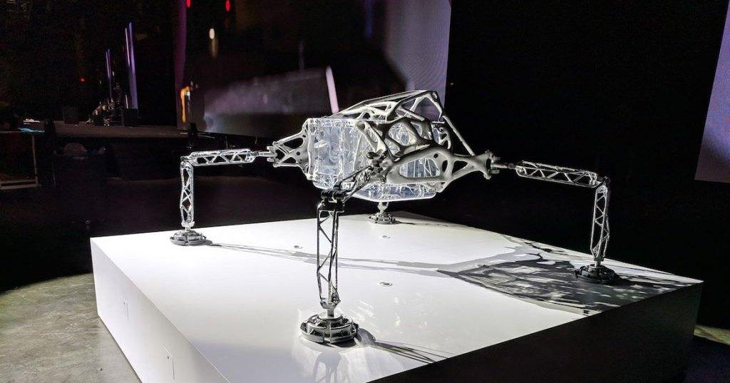 Космический посадочный модуль, спроектированный ИИ
